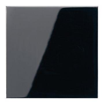 JUNG LS990 bedieningselement/centraalplaat kunststof, zwart