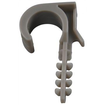 Mepac beugelklem BC, grijs, spanbereik 16-20mm