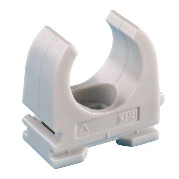 JMV drukzadel OPDZ, kunststof, grijs, diam 16mm, 1 kabels/buizen