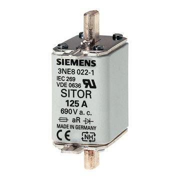 Siemens smeltp (mes) 3NE8, DIN-grootte NH00, nom. (meet)str 125A