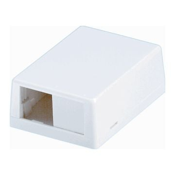 Panduit outlet-component kunststof, ivoorwit, basis element met complete