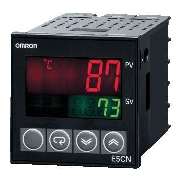 Omron dig temperatuurregelaar E5CS voor, temperatuurbereik -10-+500°C