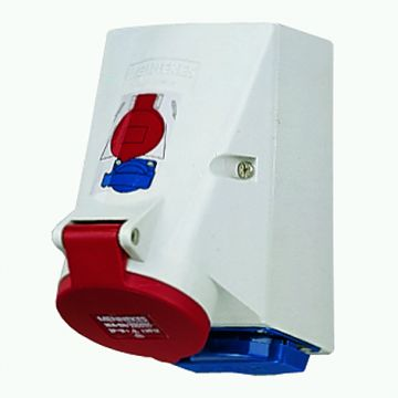 Mennekes cee-cont ds comb Twinbox, CEE-cont ds-16 A 1x16A5p400V