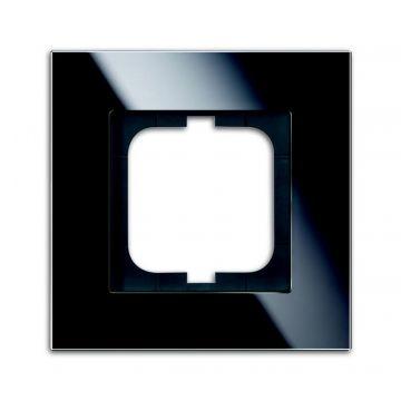 Busch-Jaeger Carat afdekraam 1-voudig glas, zwart