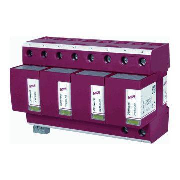 Dehn gecombineerde afleider energietech. Dehnventil, netvorm TN-S Net