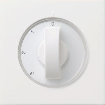 Gira bedieningselement/centraalplaat F100 kunststof, wit