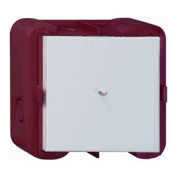 Gira E22 1-voudig kunststof wand inbouwdoos, rood