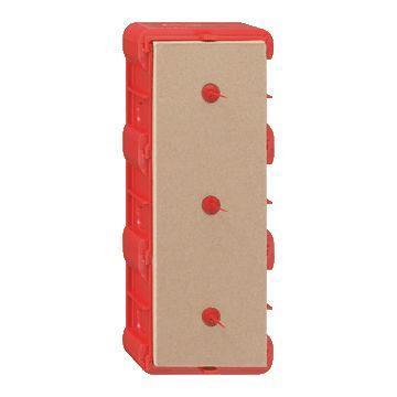 Gira E22 doos voor montage in wand/plafond kunststof, rd