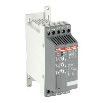ABB soft starter PRS, nom. bedrijfsstroom Ie bij 40 °C Tu 9A