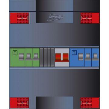 Attema installatiekast Click-mate XL-plus XLA, 220x220x100mm, 1 fasen