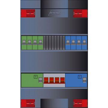 Attema installatiekast Click-mate XL-plus XLAG, 380x220x100mm, 3 fasen