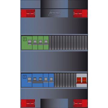Attema installatiekast Click-mate XL-plus XLAG, 380x220x100mm, 1 fasen