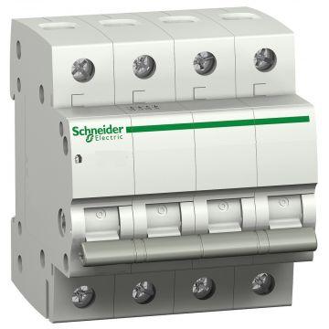Schneider Electric Domae keuzeschakelaar frontelement, 2 standen, 40A, 4P, tuimelaar, knop wit
