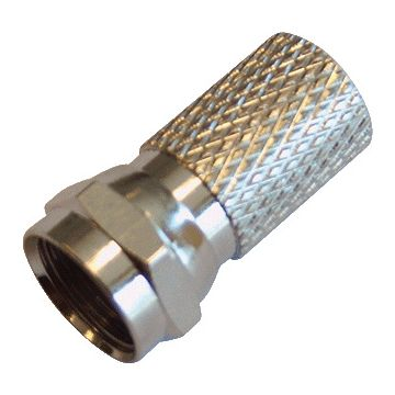 Radiall coax kabel connector plug (steker) F, conn typ F-connector