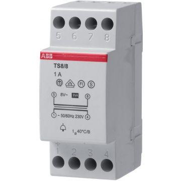 ABB System pro M stuurtransformator 1 fase, uitvoering als veiligheidstrafo, (bxhxd) 70x100x58mm