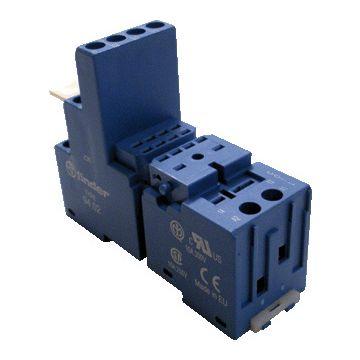 Finder relaisvoet 55, bl, (bxhxd) 27x60.9x76mm
