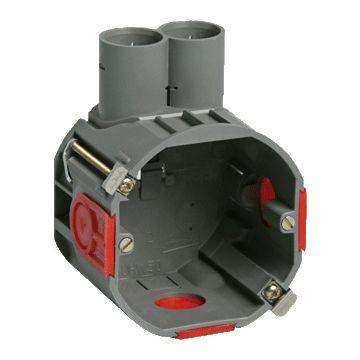 Attema UHW50 hollewand inbouwdoos, diepte 50mm, buisdiameter 16/19mm