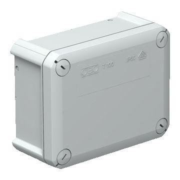Obo doos voor montage op wand/plafond T-Box 100, max. 10mm², rechthoek