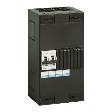 Attema installatiekast Click-mate XL-plus, 115x220x100mm, 1 fasen, bev installatieautomaat