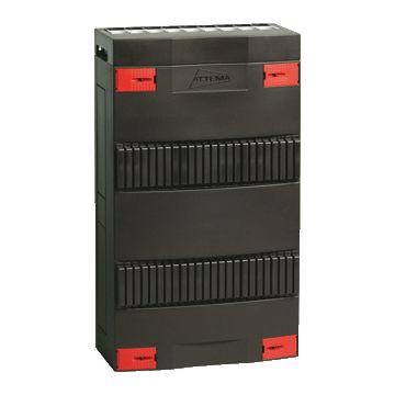 Attema installatiekast leeg Click-mate XL-plus, zwart, (hxbxd) 330x220x100mm