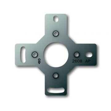 Busch-Jaeger AP Plus metalen adapter voor montage op inbouwdoos