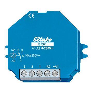 Eltako ER 61 schakelaarrelais, (bxhxd) 45x55x18mm aansluitingwijze schroefaansluiting