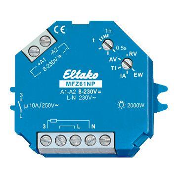 Eltako MFZ 61 tijdrelais, inbouw DIN 48x96mm uitvoering elektrische aansluiting