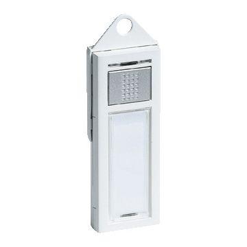 Grothe Mistral zender voor draadloze gong, batterijvoeding V23GA/MN21, wit