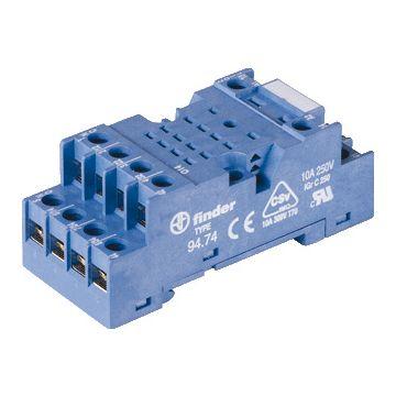 Finder relaisvoet 55, bl, (bxhxd) 30x27x70.5mm