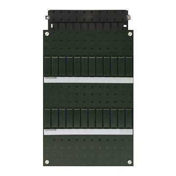 ABB Haf installatiekast leeg Hafonorm HLD, zwart, (hxbxd) 330x220x75mm, DIN-rail