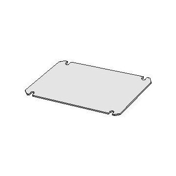 Eldon mont pl voor kast/lessenaar, staal, (hxb) 240x160mm, verz