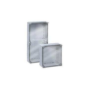 Eldon installatiekast leeg, zilvergrijs, (hxbxd) 200x300x132mm
