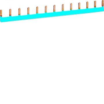 Hager kamrail KB, le 25mm, 1 fasen, voor atl apparaten 2, delingsmaat 3mm