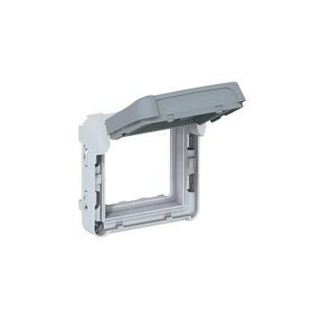 Legrand BTicino Plexo opbouw bk inbouw schakelaar IP55 kunststof, grijs