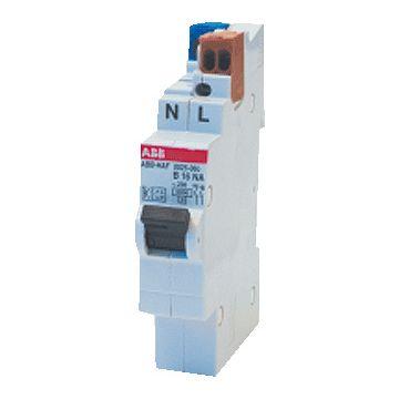 ABB installatieautomaat 1 Hafonorm Flexomaat, meeschakelende nul
