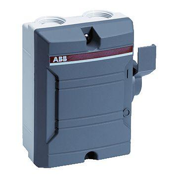 ABB lastscheider BW, uitvoering lastscheider, uitvoering werkschakelaar