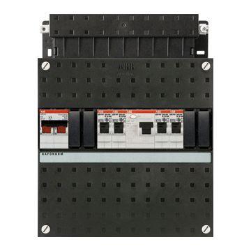 ABB installatiekast Hafonorm HAD, 220x220x90mm, 1 fasen