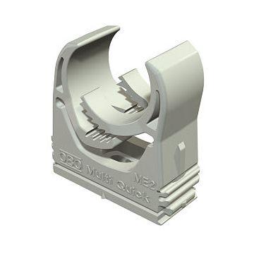 Obo kabelbuisklem Multi-Quick, kunststof, grijs, voor buisdiameter 20-25mm