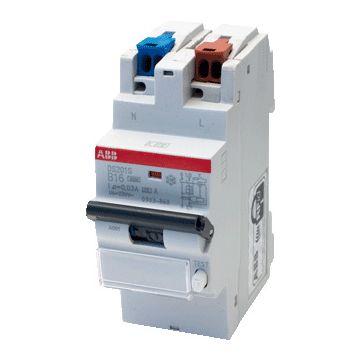 ABB aardlekautomaat 1 Hafonorm Comfomaat, kar B, nom. (meet) 230V
