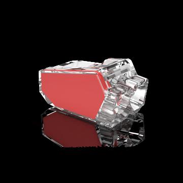 Conex lasklem, transparant, 2 klemposities, nom. diam 1-2.5mm², doos=50st
