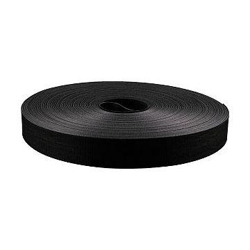 Mepac klittenband dubbelzijdig KL, zwart, (lxb) 22.5mx13mm