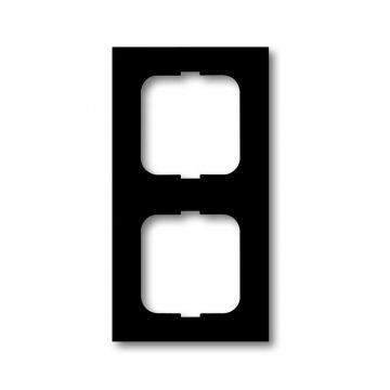 Busch-Jaeger Future Linear afdekraam 2-voudig, matzwart
