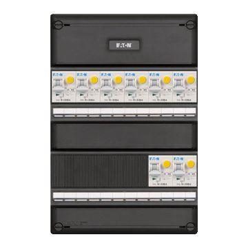 Eaton installatiekast 55, 1-fase aardlekautomaat Alamat, 330x220x79mm, 1 fasen