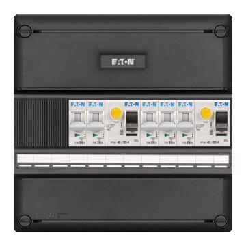 Eaton installatiekast 55, 220x220x79mm, 1 fasen