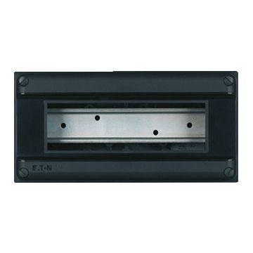 Eaton installatiekast leeg 55, zwart, (hxbxd) 110x220x79mm, DIN-rail