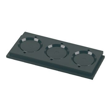 Eaton kabel-/bs inv st inv st 55, 3 buisinvoer, installatiekast, wartelmaat PG21