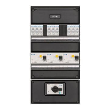 Eaton installatiekast 55, 440x220x79mm, 3 fasen