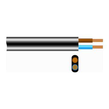 Icc mantelleiding vlak VMVS, nom. gel diam 0.75mm², kl 5 = soepel