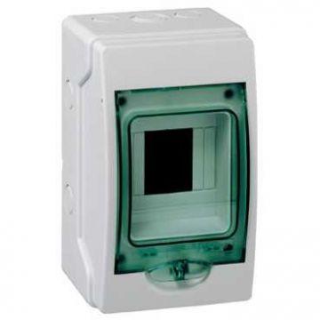 Schneider Electric KAEDRA Mini installatiekast (hxbxd) 200x123x112mm, opbouw, kunststof