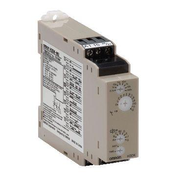 Omron H3DK S tijdrelais, DRA (DIN-rail adapter), uitvoering elektrische aansluiting